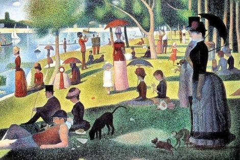 Georges Seurat   Un Dimanche après-midi@ à la Grande-Jatte  