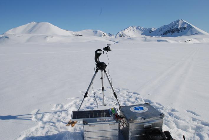Geopol, œuvre diffusée en avril 2009@ sur Souvenirs From Earth.