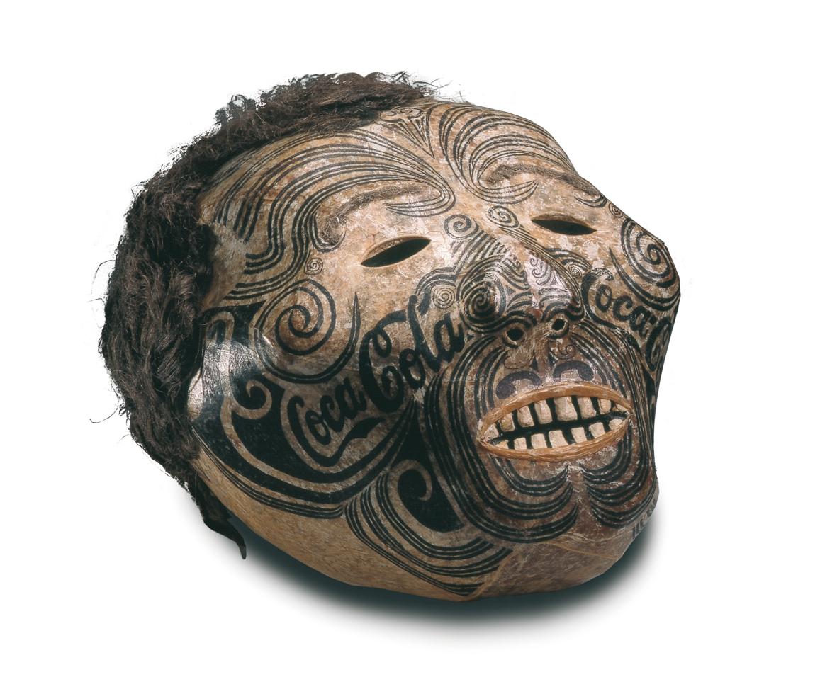 Crâne momifié maori
