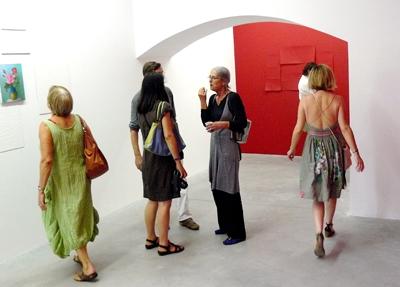 Vue d'exposition|Angle Art contemporain|2009