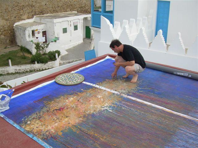 Jean-Marc Brunet à Tanger, il y a quelques semaines