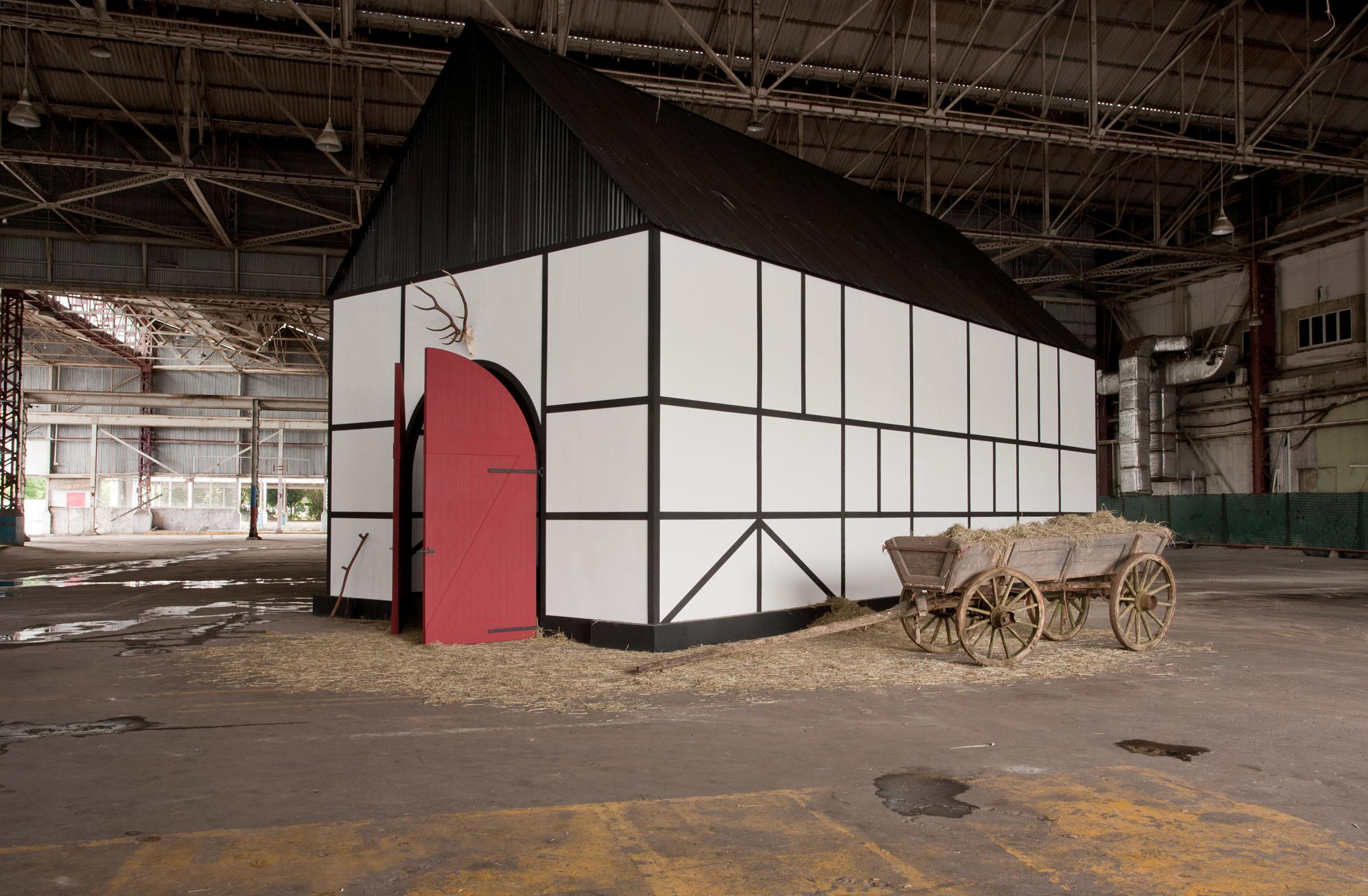 Deutsche Scheune / German Barn