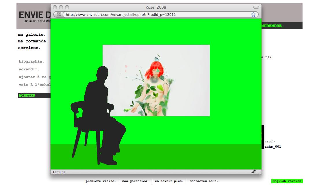 | | Il est possible d'ouvrir une@ fenêtre pour visualiser l'œuvre |