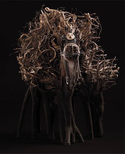 J'ai échangé l'écorce de mon corps @contre la peau des arbres