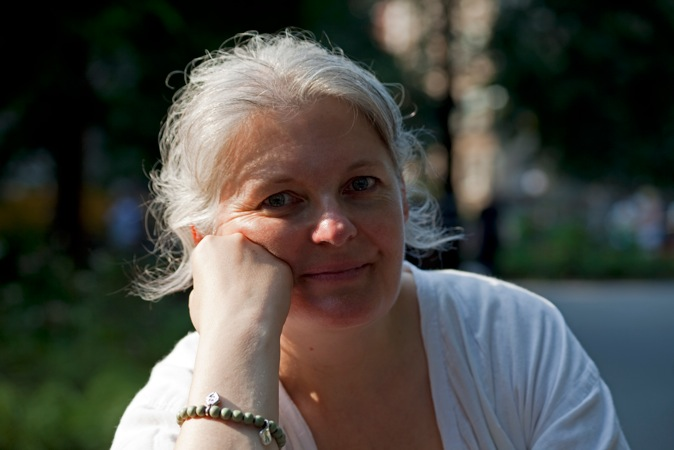 Sylvie Corroler-Talairach, Directrice de la Fondation @d'entreprise Espace Ecureuil @pour l'art contemporain.