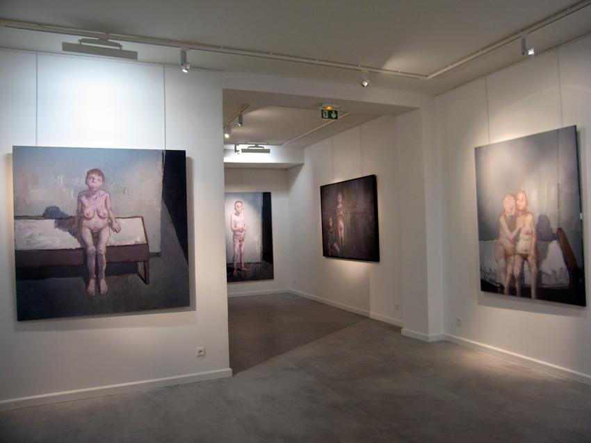 Vue de l'exposition actuellement@visible à la Fondation Rustin |  |