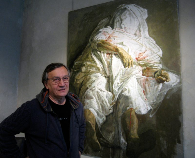 Safet Zec, courtesy galerie Dutko, Paris, photo MLD