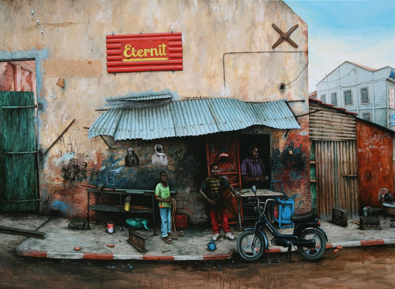 Julien Beneyton|Sénégal, Saint-Louis, Jeunes forgerons|2008
