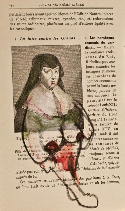 Anne d'Autriche, série Trente têtes couronnées