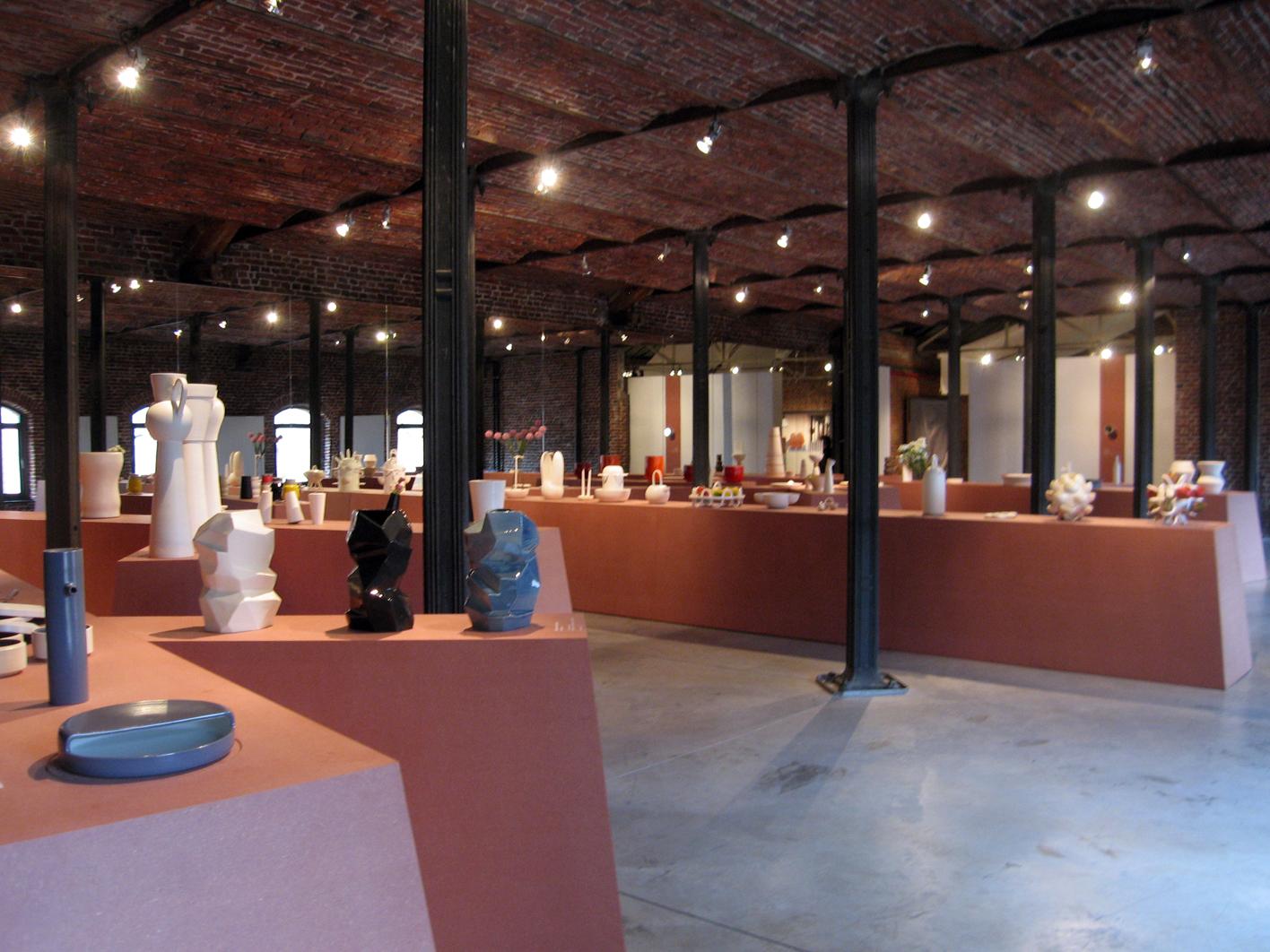 Vue de l'exposition Aïello & les designers |  |