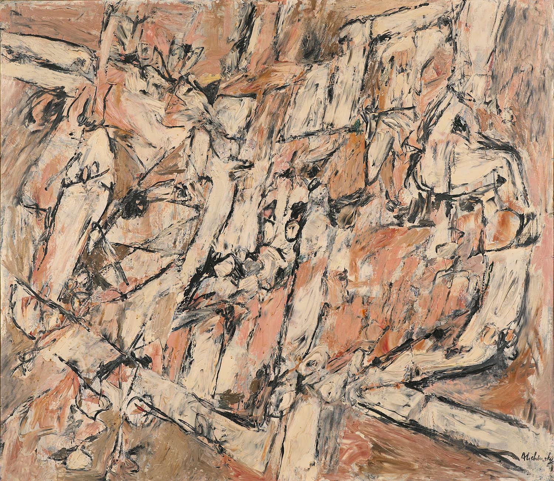 Le monde flottant, huile sur toile (140 x 160 cm)