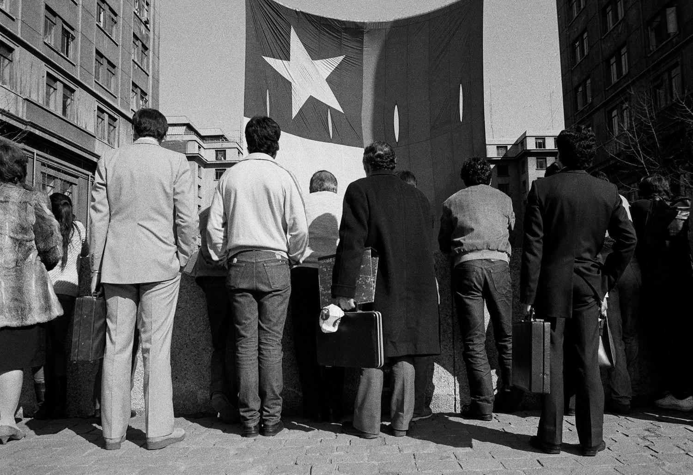 « Centro de Santiago », Alejandro Hoppe, 1987