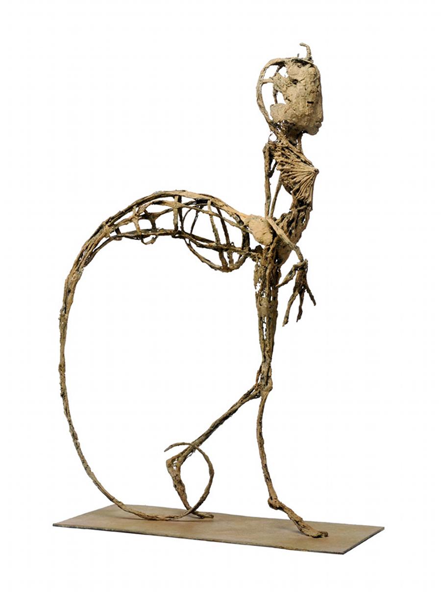 Aliath, bronze, pièce unique (53.5 cm de hauteur)
