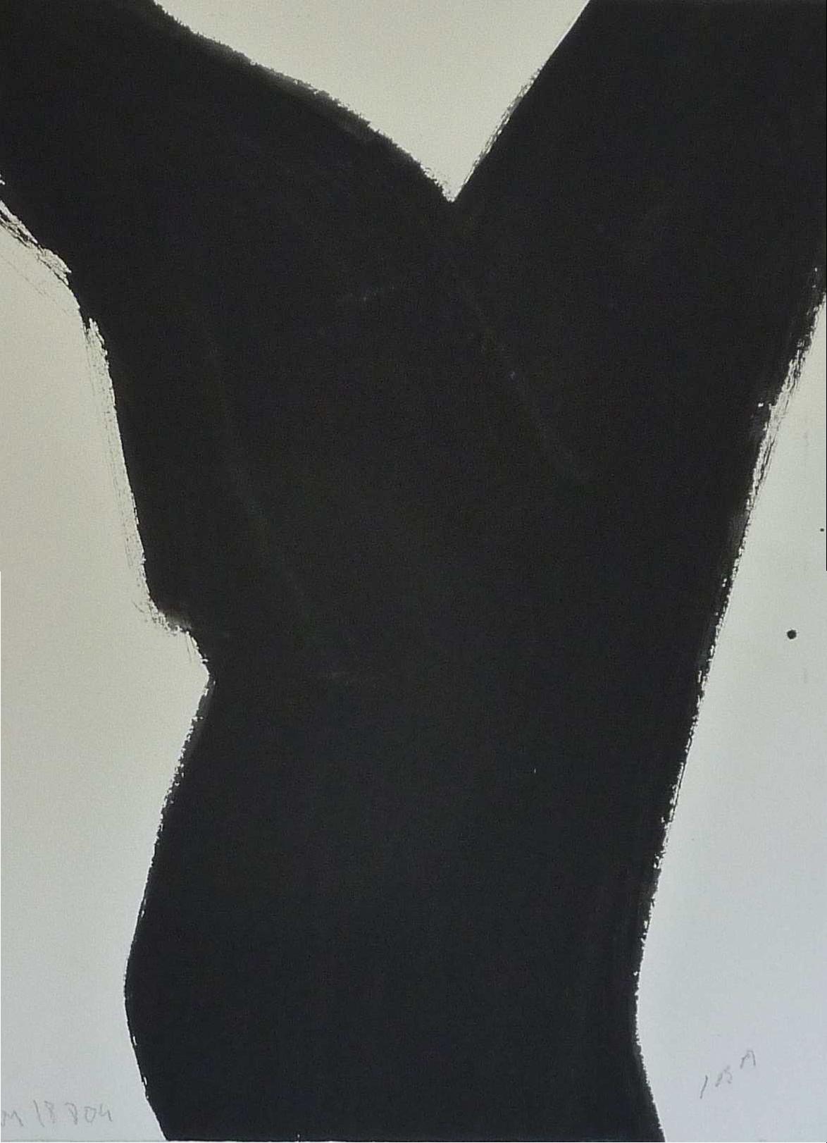 Chêne, gouache sur papier@(100 x 90 cm)