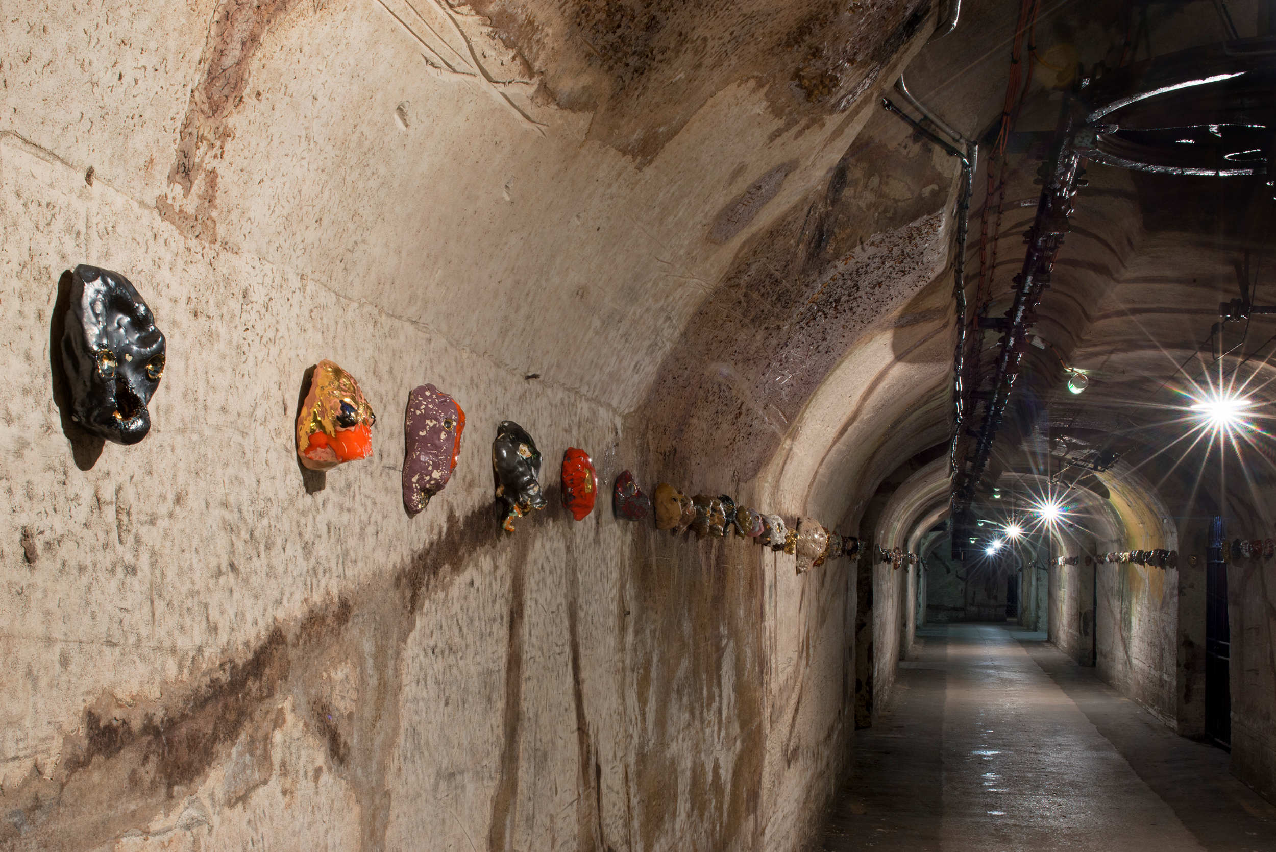 Vue de l'exposition@Expérience Pommery #11, Une Odyssée :@30 ans du Frac Champagne-Ardenne