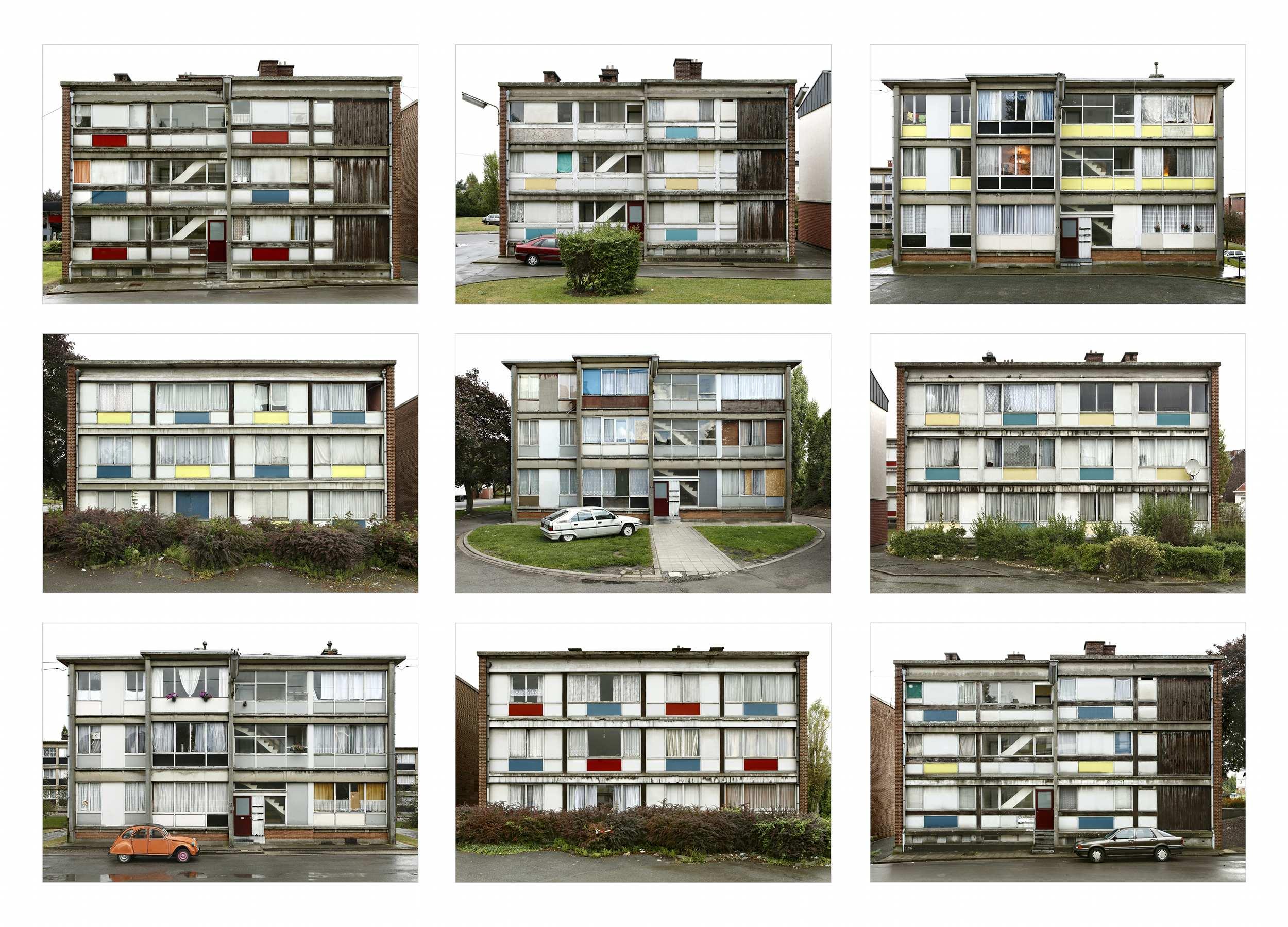 Série Een salon van horizontalen@en verticalen, prix Monography Series Award@(Bozar-Nikon)