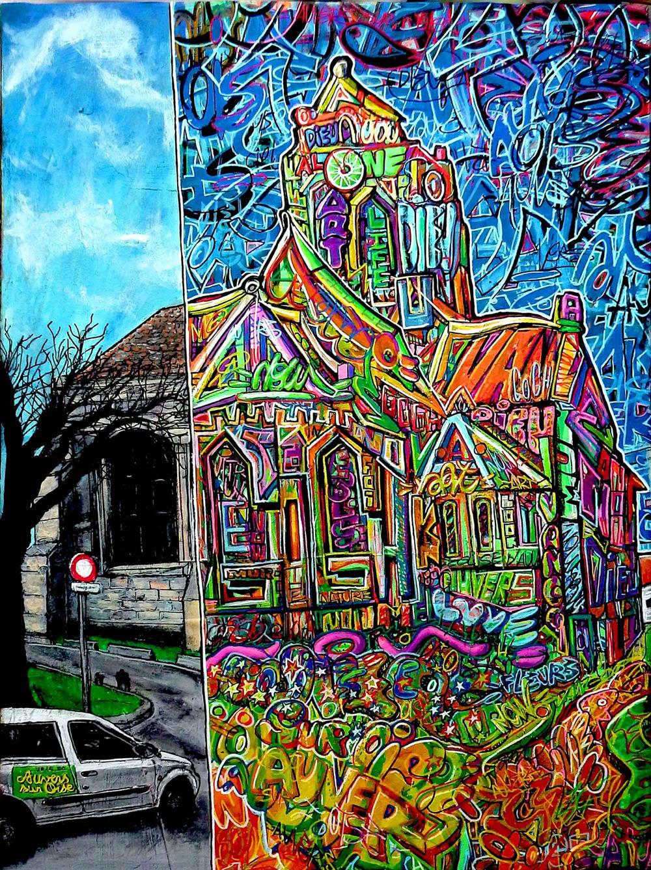 L'église d'Auvers