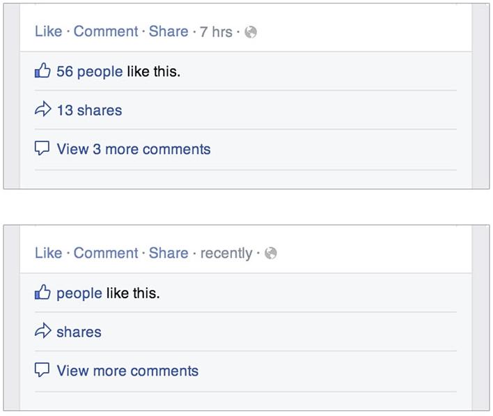 Facebook Demetricator (détail)