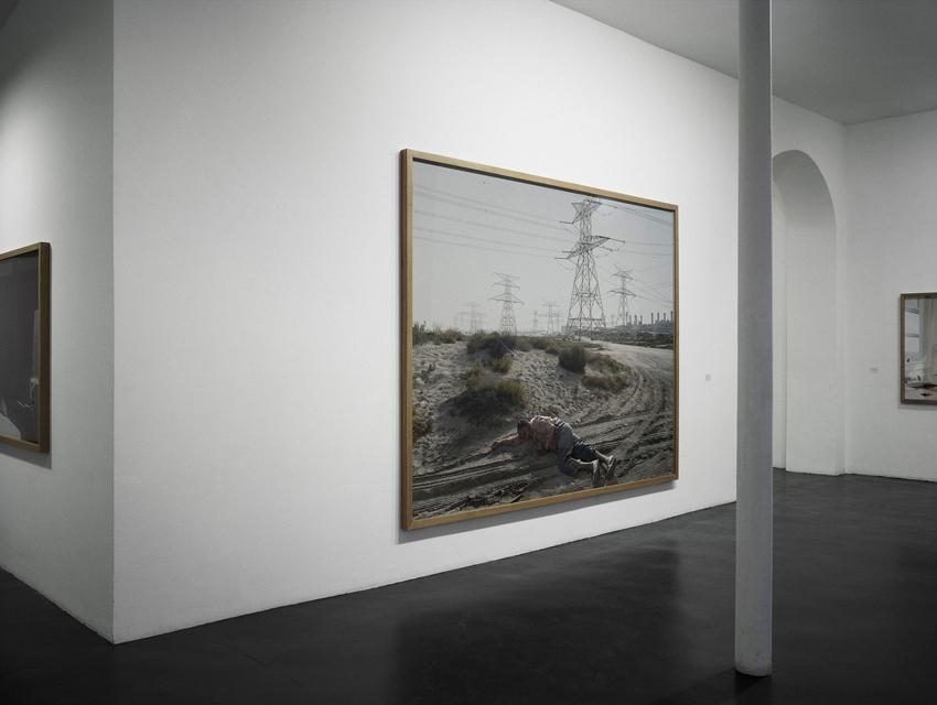 Vue de l'exposition 2006-2010@à la galerie Nathalie Obadia