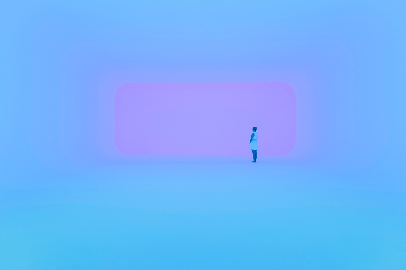 James Turrell | Virtuality squared, série Ganzfeld | 2014