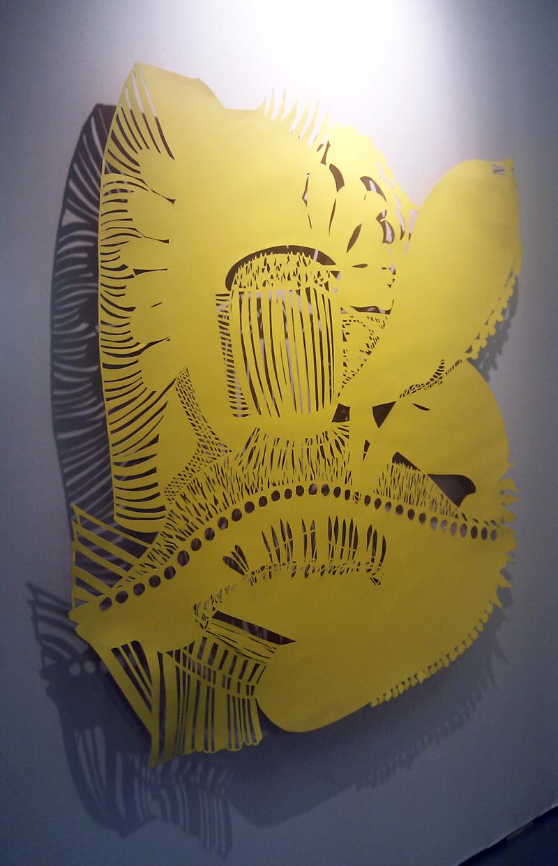 Jaune – Soleil (150 X 150 cm)
