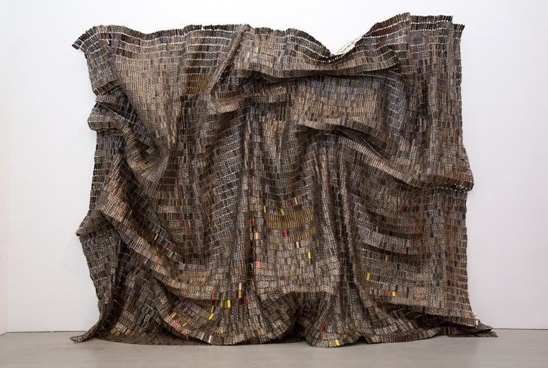 Black Block, aluminium et fil de cuivre