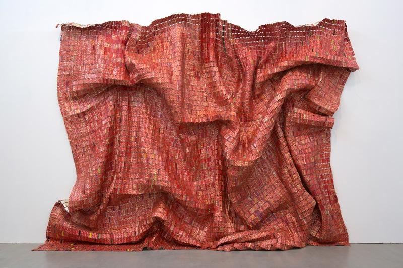 Red Block, aluminium et fil de cuivre