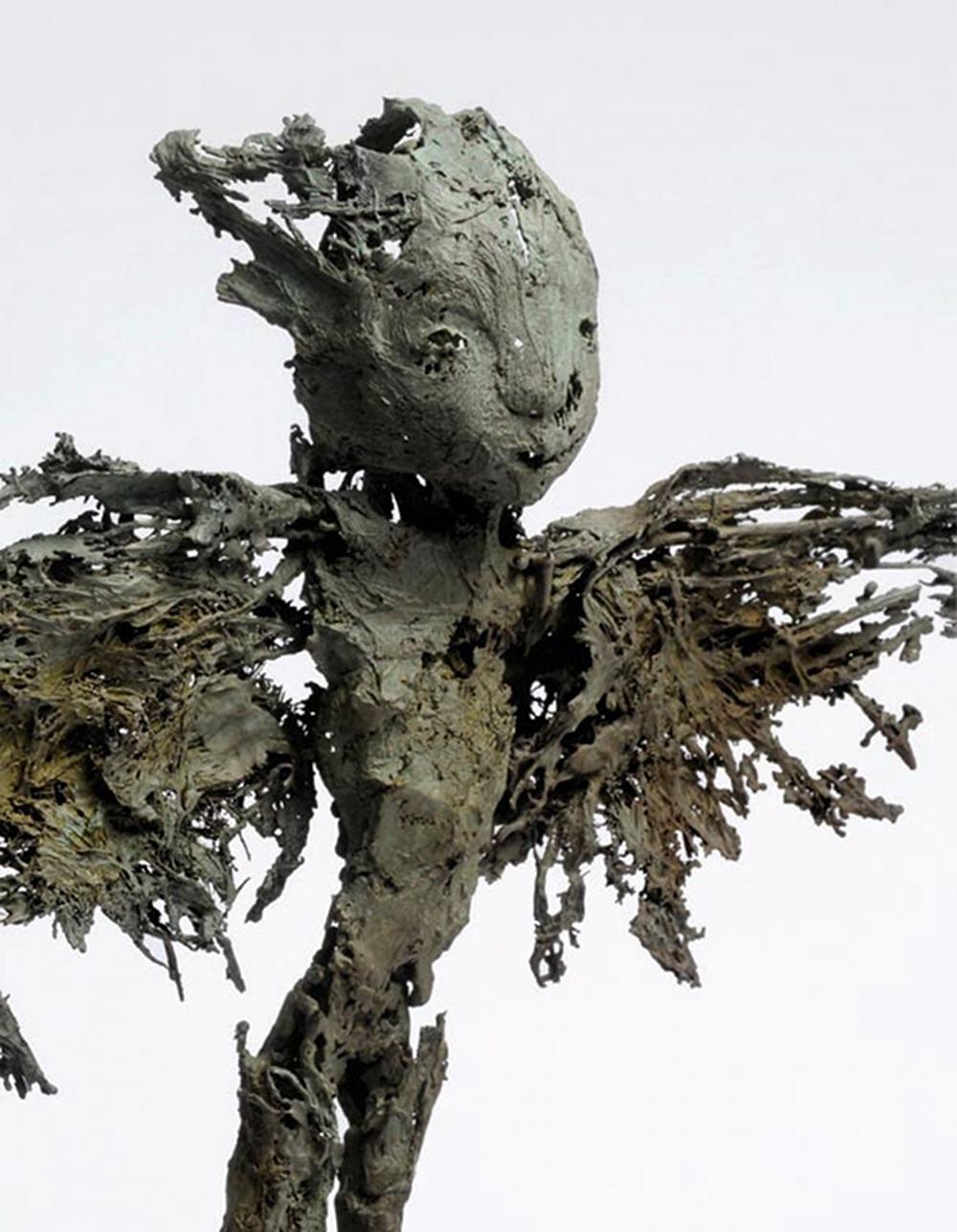 Espan, bronze, pièce unique (40 cm de hauteur)