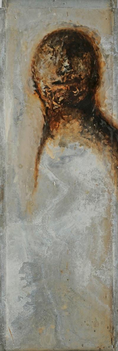 Figure 7, huile sur zinc (55 x 183 cm)