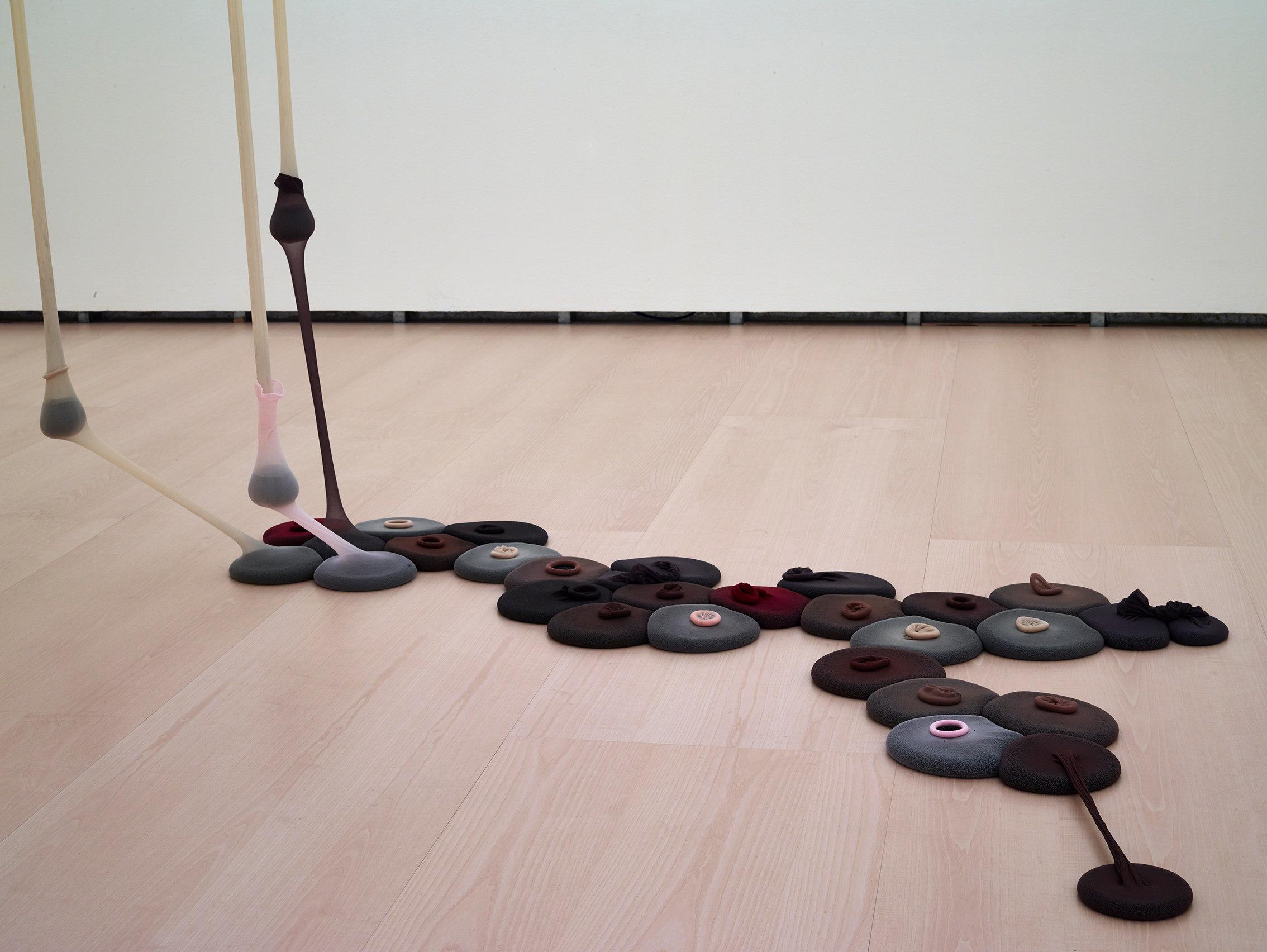 Drum, vue de l'installation au Musée d'art@moderne de S?o Paulo