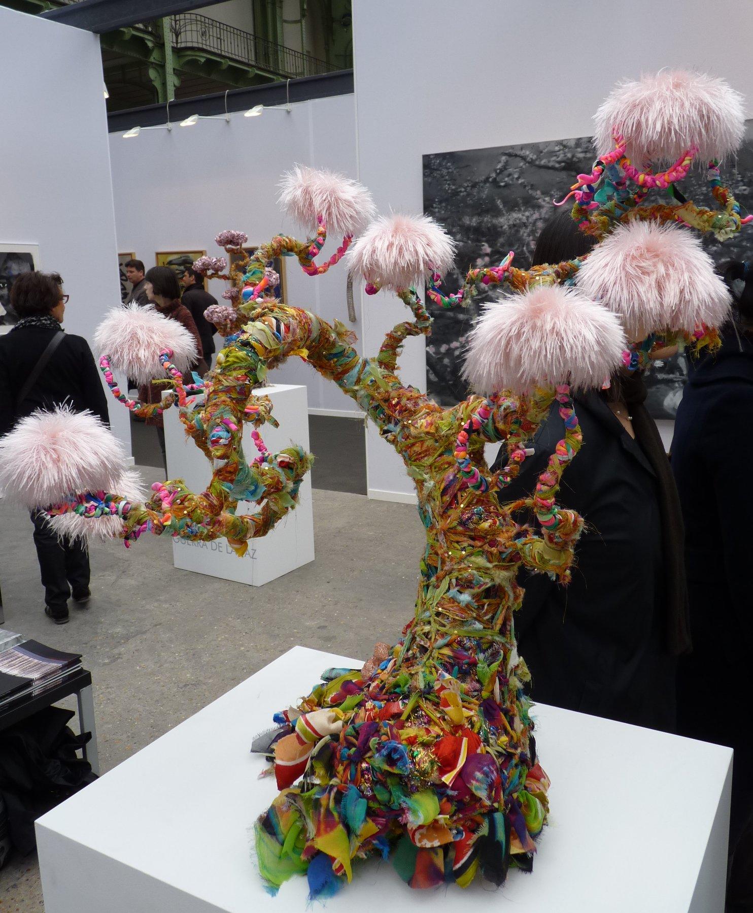 Création à huit mains pour ArtParis 2011