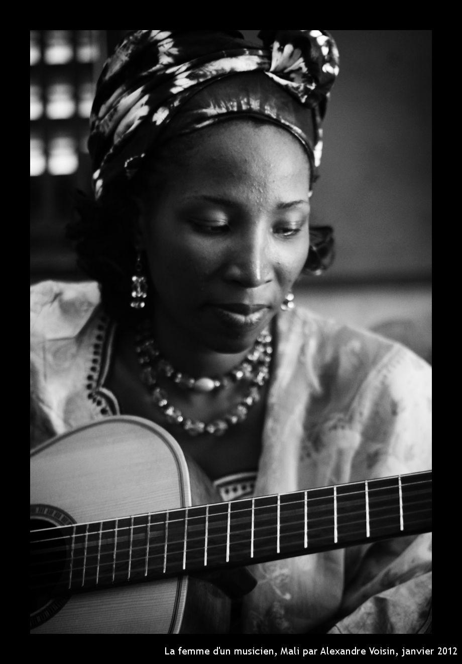 La femme d'un musicien