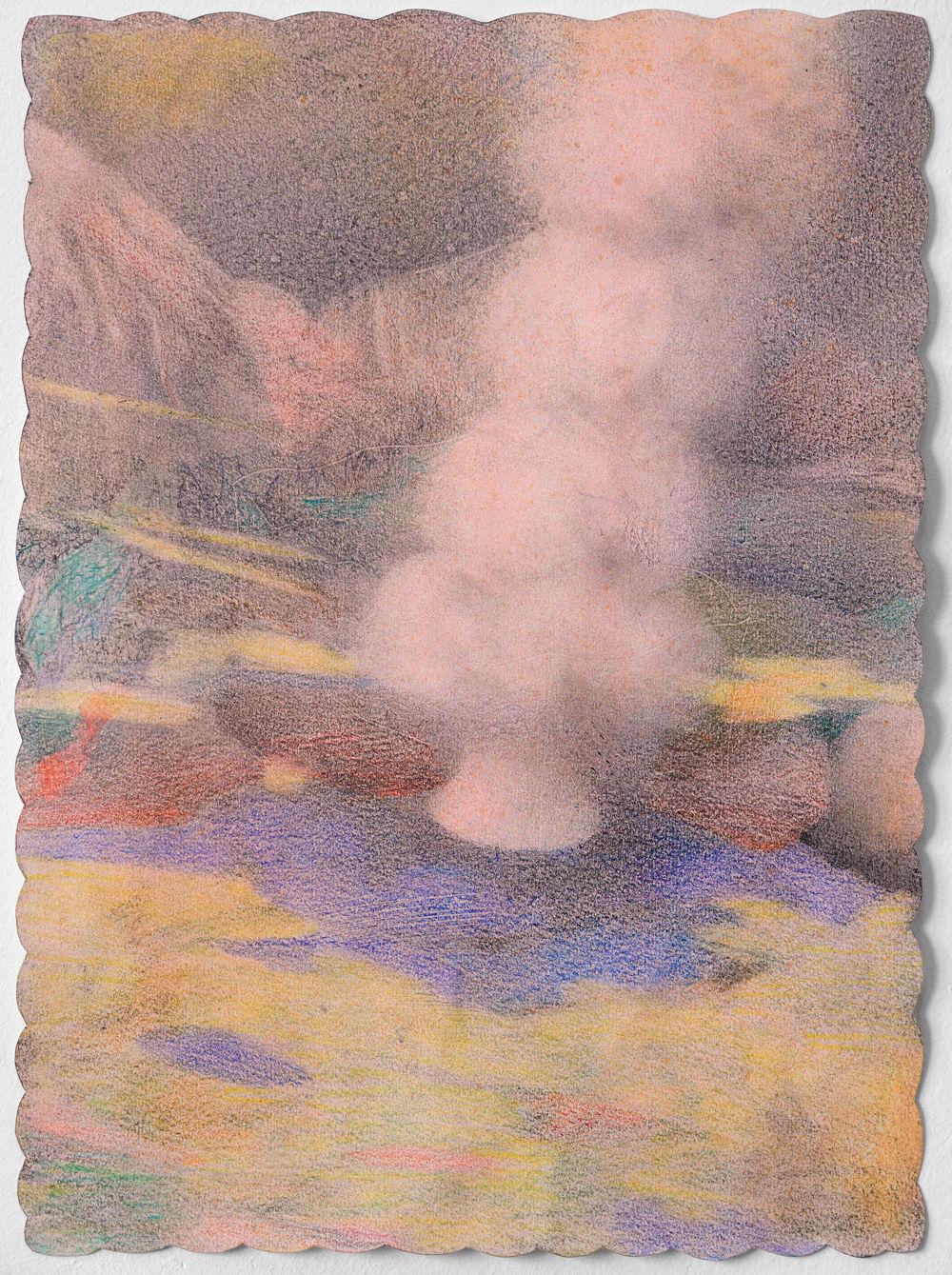J'eyser, graphite et aérographe sur papie@ (30 x 40 cm)
