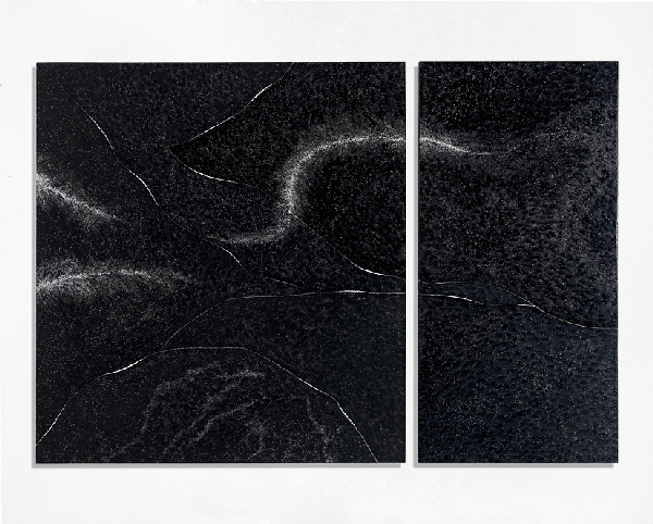 Chemins, 80 x 240 cm