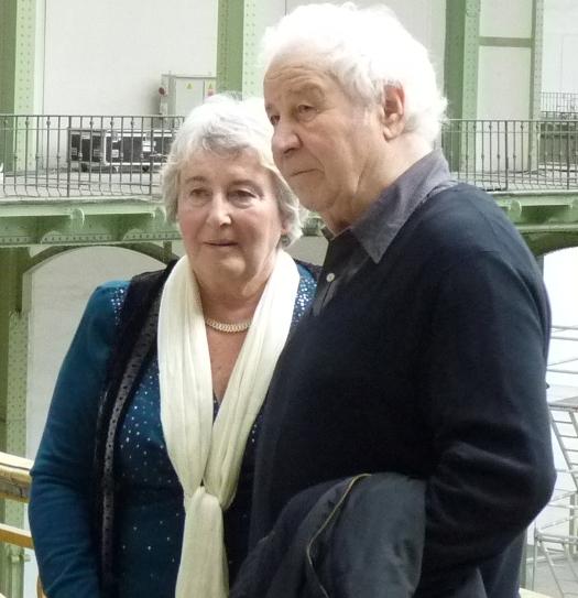 Ilya et Emilia Kabakov au Grand Palais, à Paris || Mai 2014
