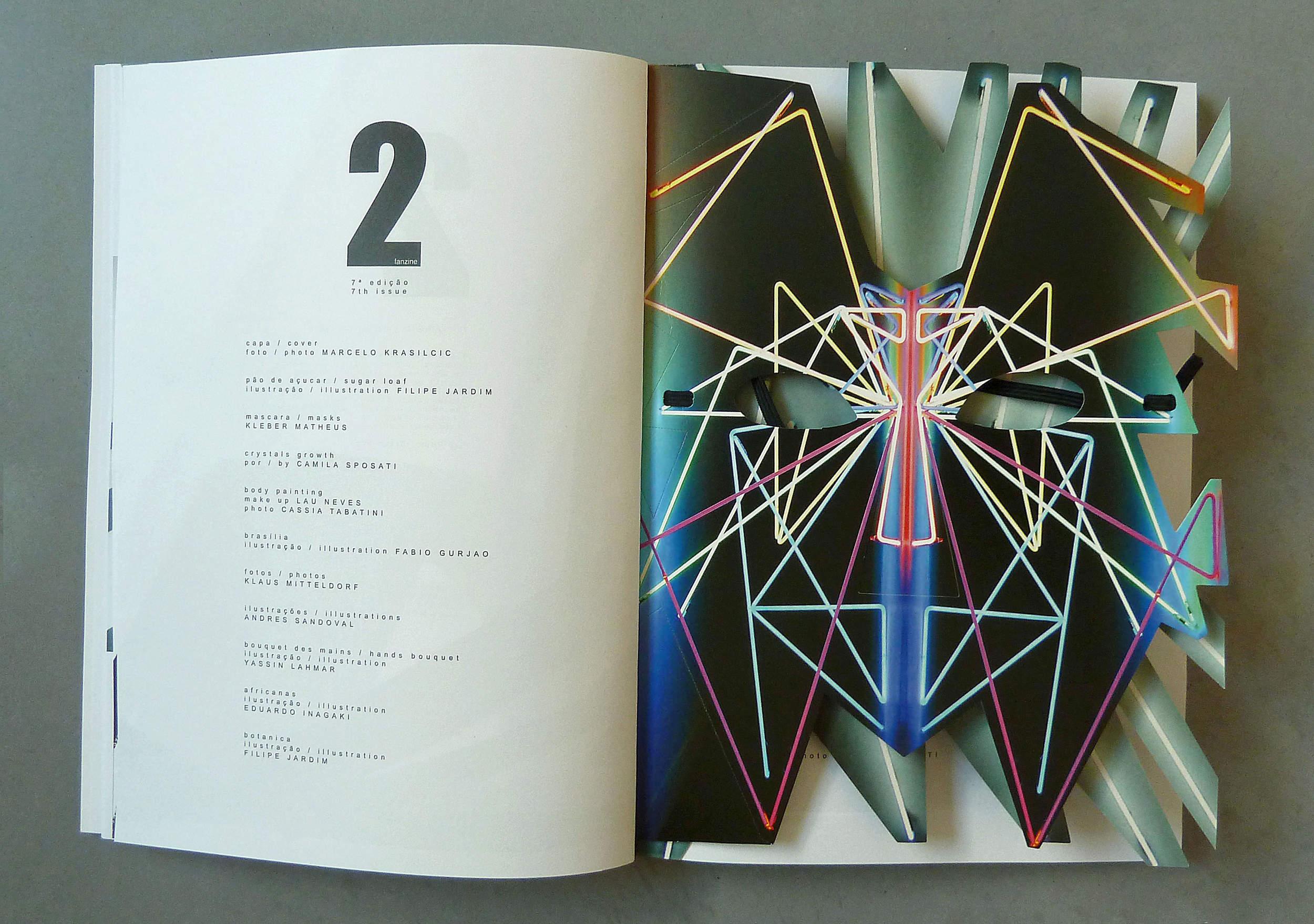 Extrait du septième numéro@de 2 Fanzine