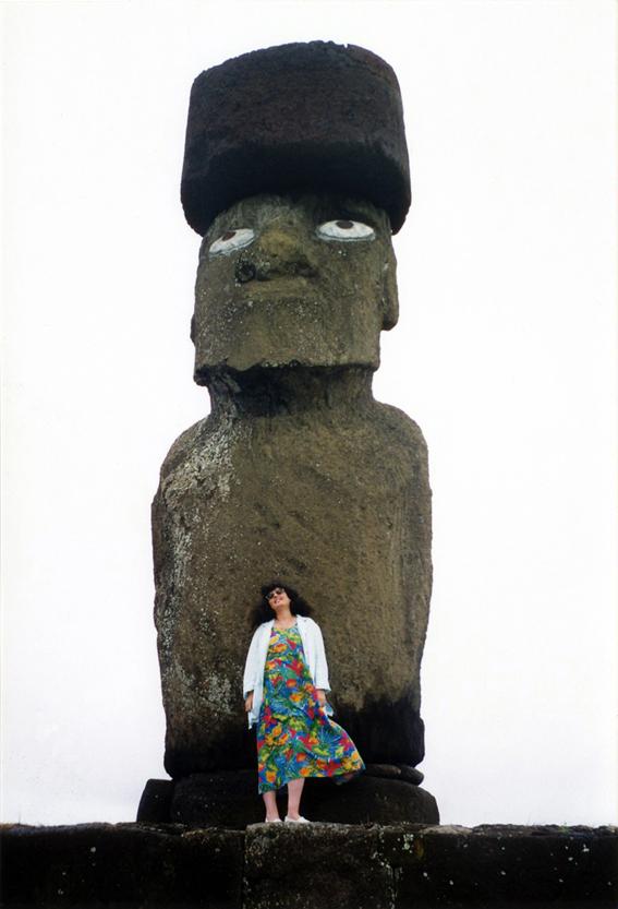 Lélia Mordoch@en voyage à l'île de Pâques | | 1999