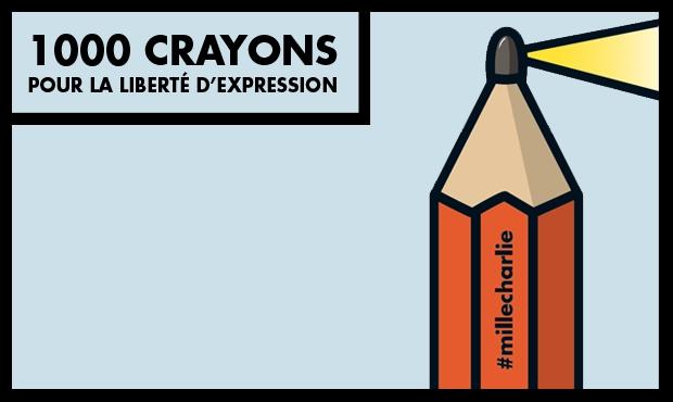 | Couverture du livre Mille crayons |