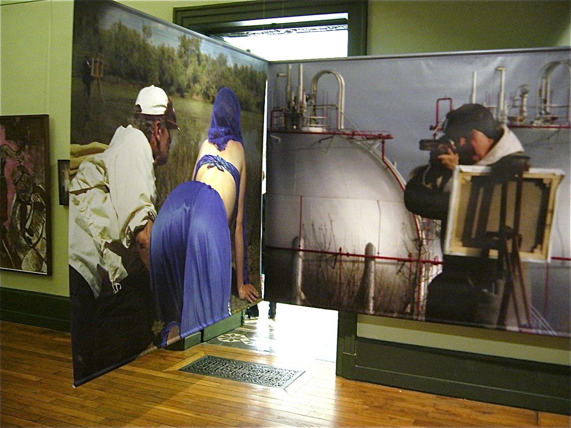 Installation au musée Denon@à Chalon-sur-Saône