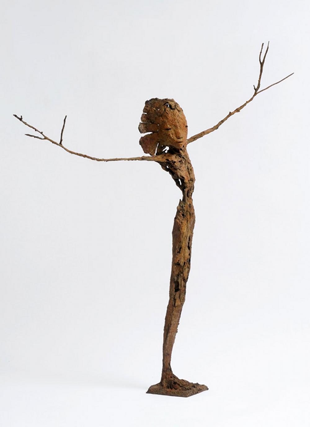 Maliit, bronze, pièce unique (65 cm de hauteur)