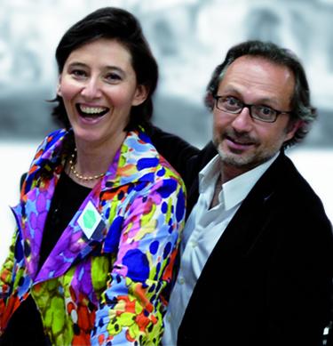 Cécile d'Aram et Yann Bombard |  |