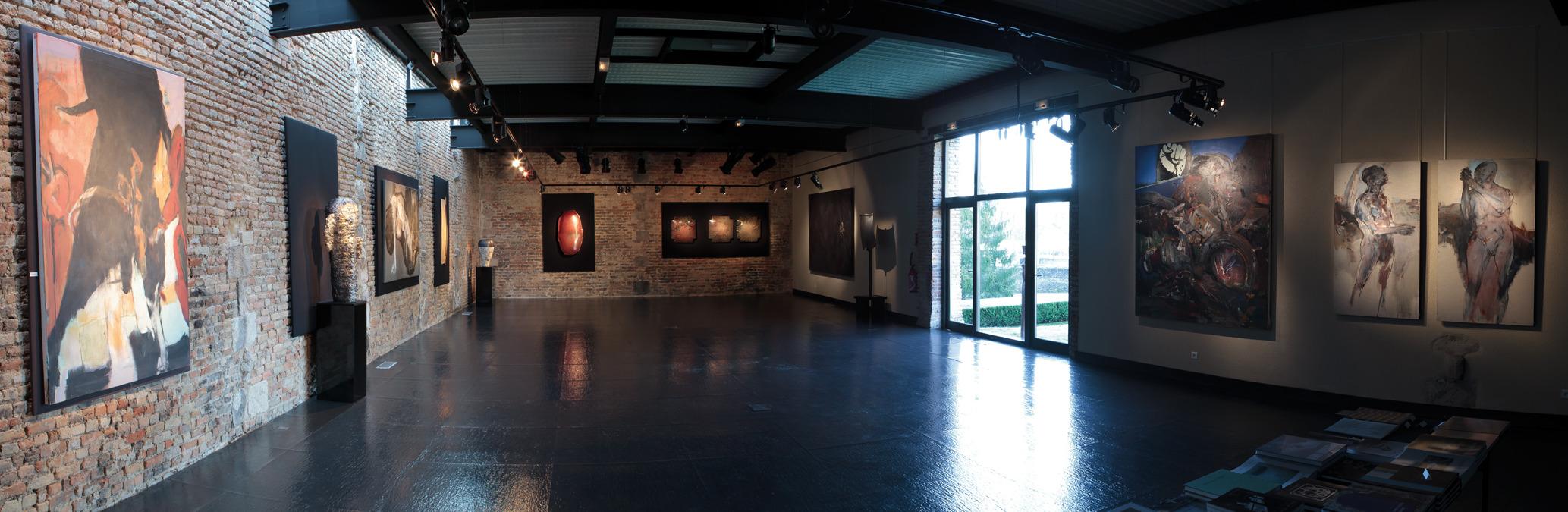 Vue de l'exposition@Ensemble depuis 40 ans, espace multiculturel