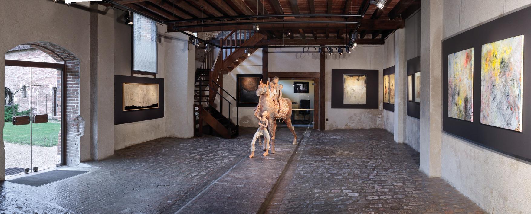 Vue de l'exposition@Ensemble depuis 40 ans, première salle