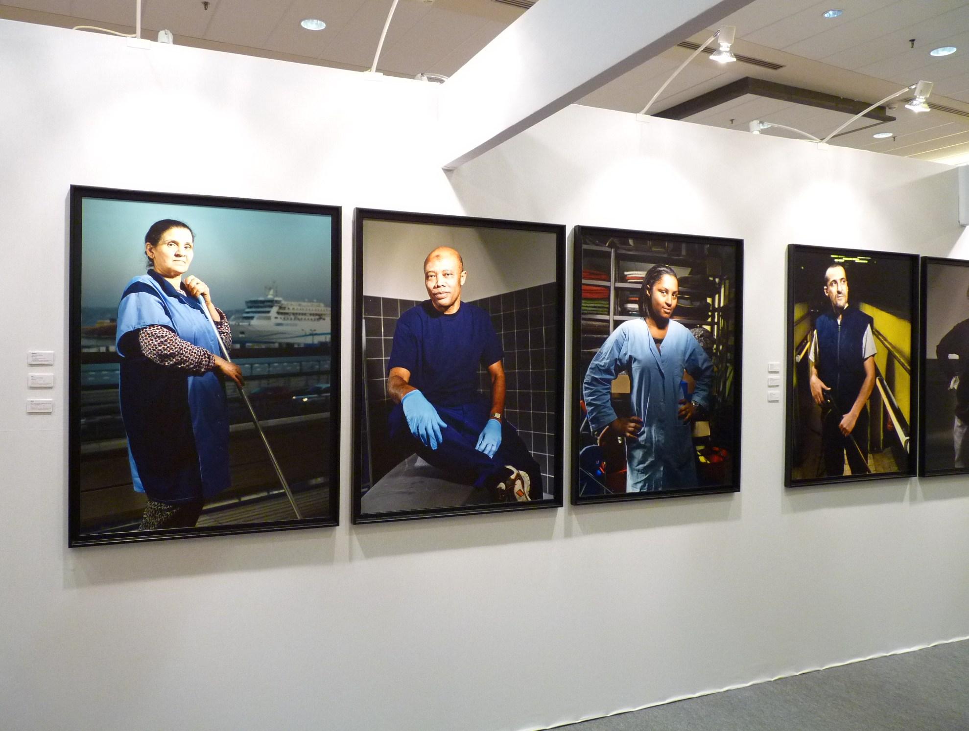 Vue de l'exposition Agents de lumière