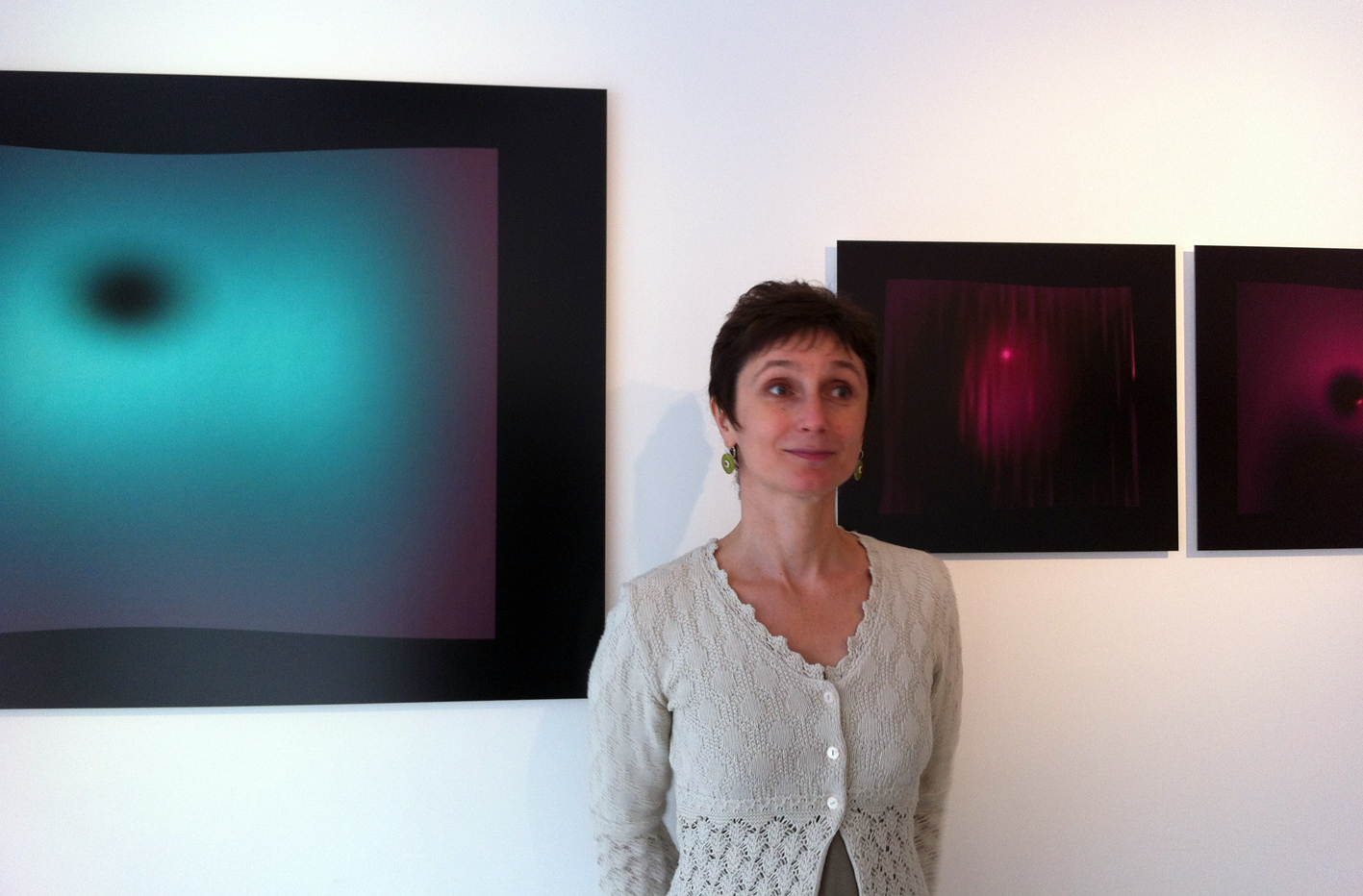 Anne-Sarah Le Meur @à la galerie Charlot |  |