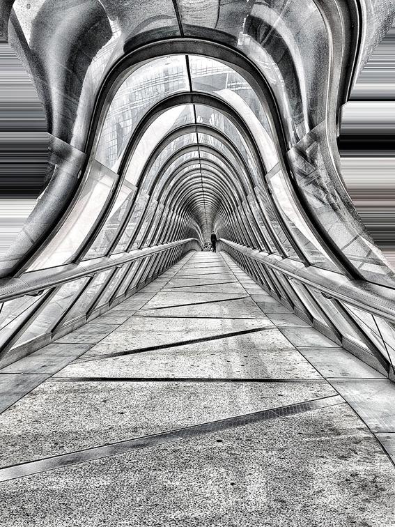 Persistance rétinienne # 10, Gauchir la perspective@ou les paradoxes en actes d'Escher