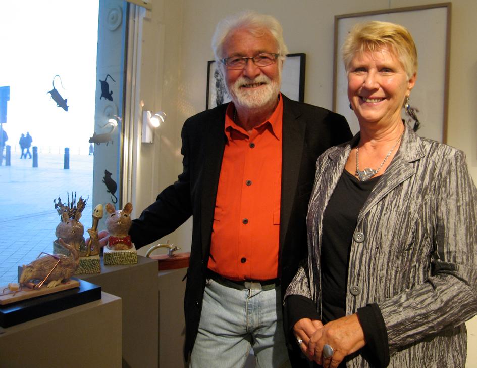 Etienne Verhellen et sa compagne |  |