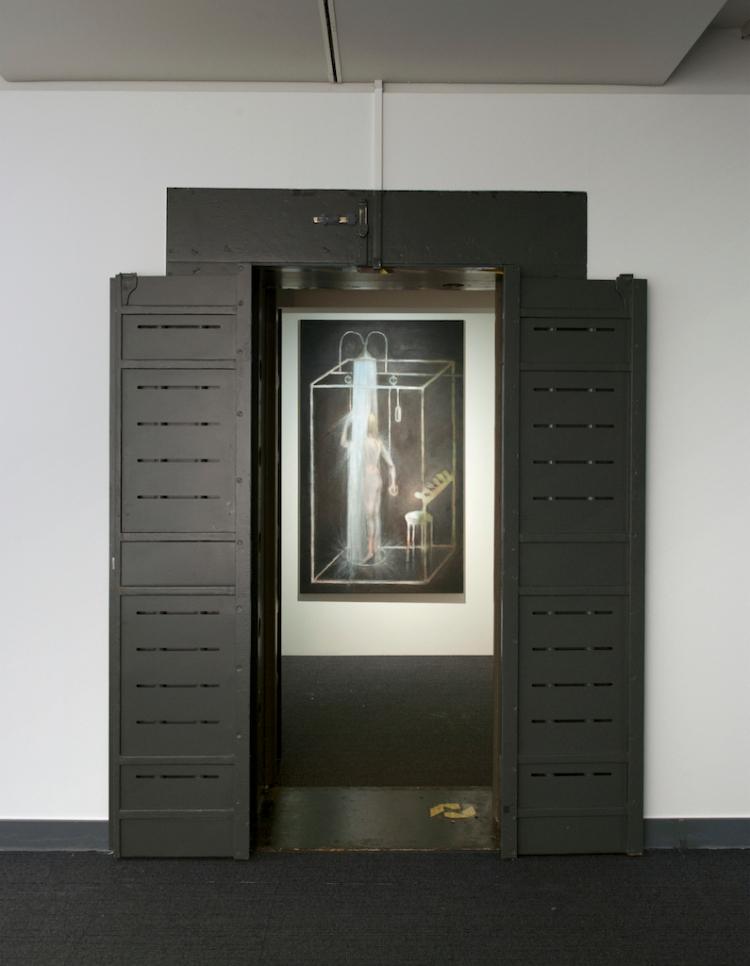 Vue de l'exposition Echoes