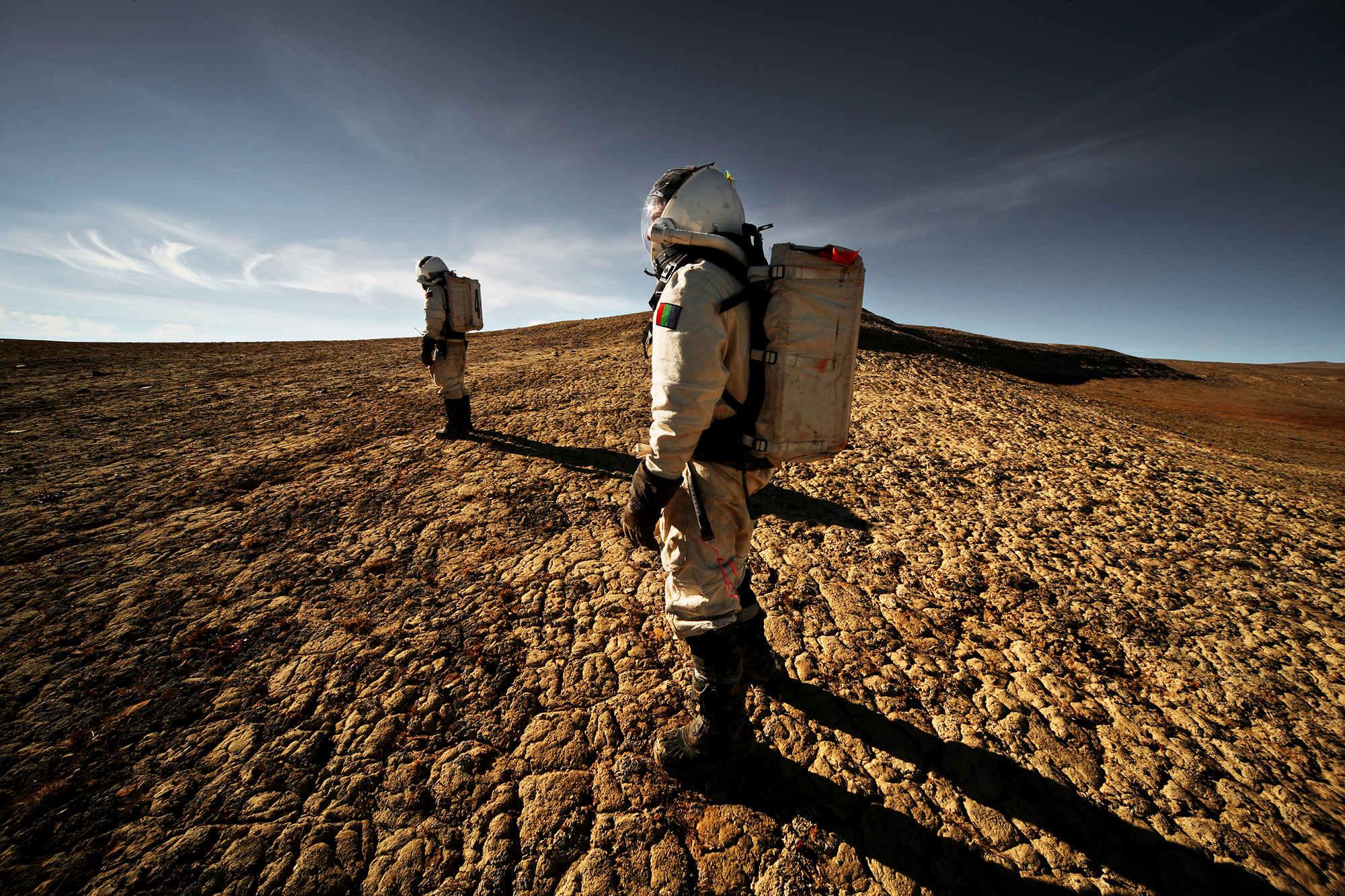 Mars en Arctique