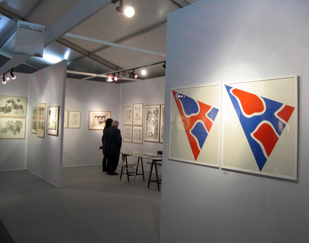 Claude Viallat, à la galerie Catherine Houard, Paris |  |